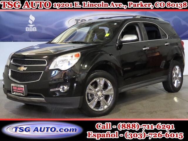 2011 Chevrolet Equinox LTZ 3.0L V6 AWD W/Leather
