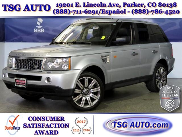 2006 Land Rover Range Rover Sport HSE 4.4L V8 AWD W/NAV Leather
