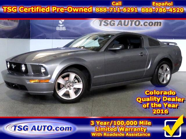 2007 Ford Mustang GT Premium 4.6L V8 W/Leather