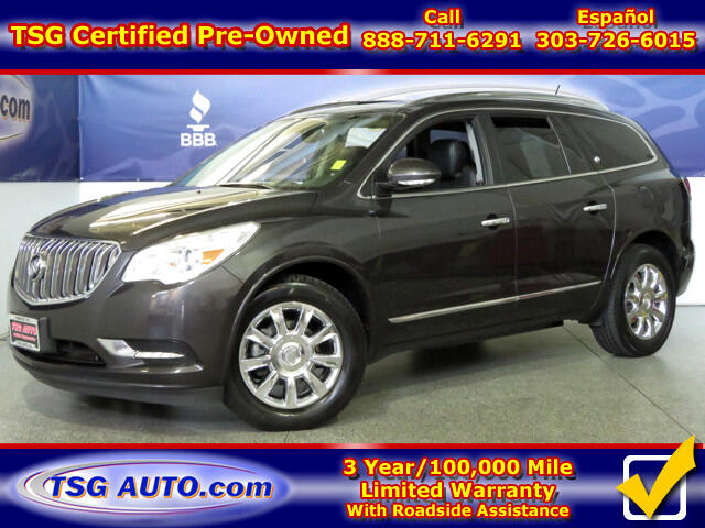 2014 Buick Enclave 3.6L V6 AWD W/NAV Leather SunRoof
