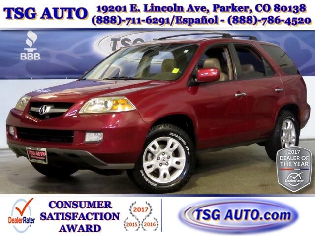 2005 Acura MDX Touring 3.5L V6 AWD W/NAV Leather SunRoof