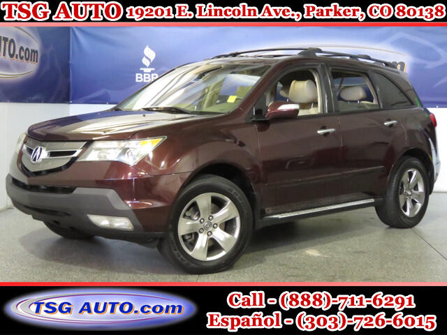 2007 Acura MDX Sport 3.5L V6 AWD W/NAV Leather SunRoof