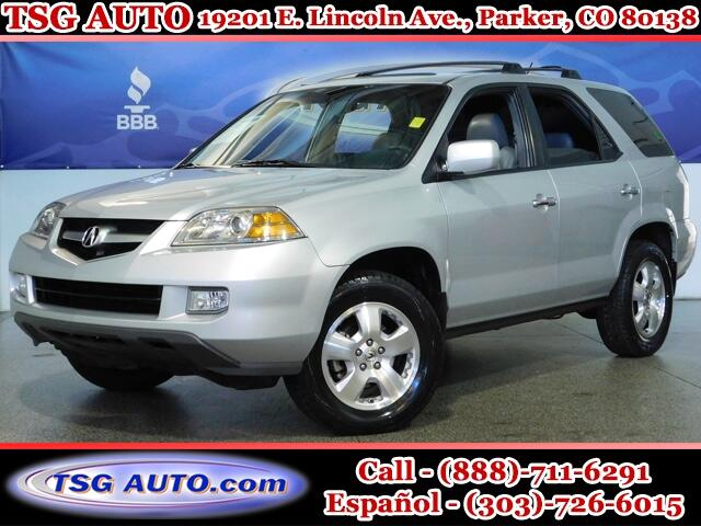 2004 Acura MDX 3.5L V6 AWD W/Leather SunRoof