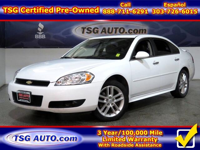 2012 Chevrolet Impala 3.6L V6 W/Leather SunRoof