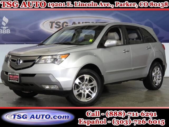 2008 Acura MDX Tech 3.5L V6 AWD W/NAV Leather SunRoof