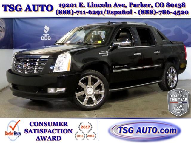 2007 Cadillac Escalade EXT EXT 6.2L V8 4WD W/NAV Leather SunRoof