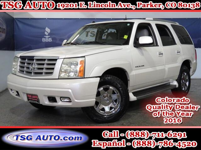 2004 Cadillac Escalade Luxury 6.0L V8 4WD W/Leather SunRoof ThirdRow