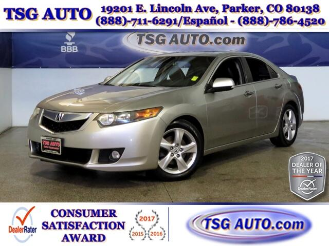 2009 Acura TSX TSX 2.4L L4 W/Leather SunRoof