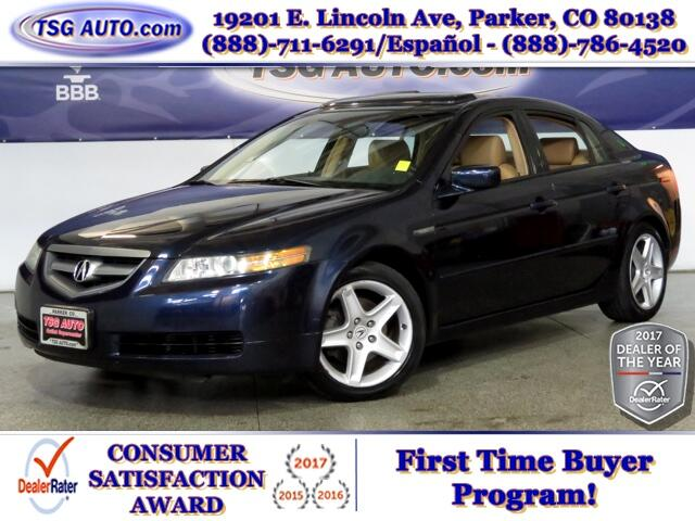 2004 Acura TL 3.2L V6 W/Leather SunRoof