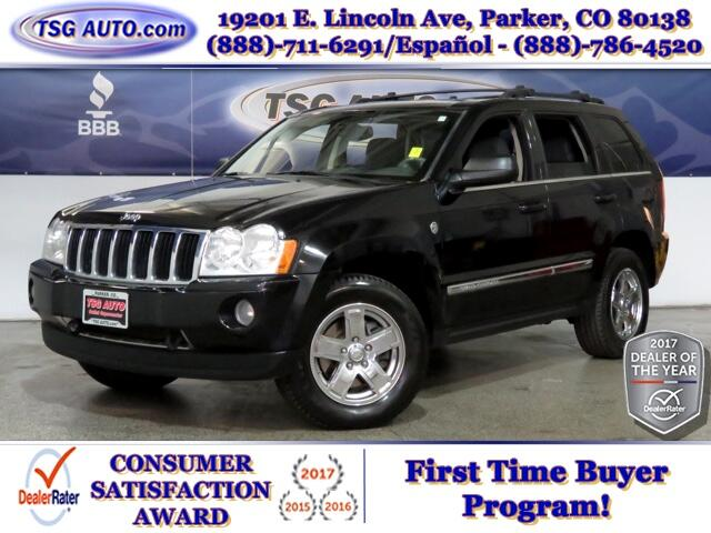 2005 Jeep Grand Cherokee Limited 5.7L V8 4WD W/NAV Leather