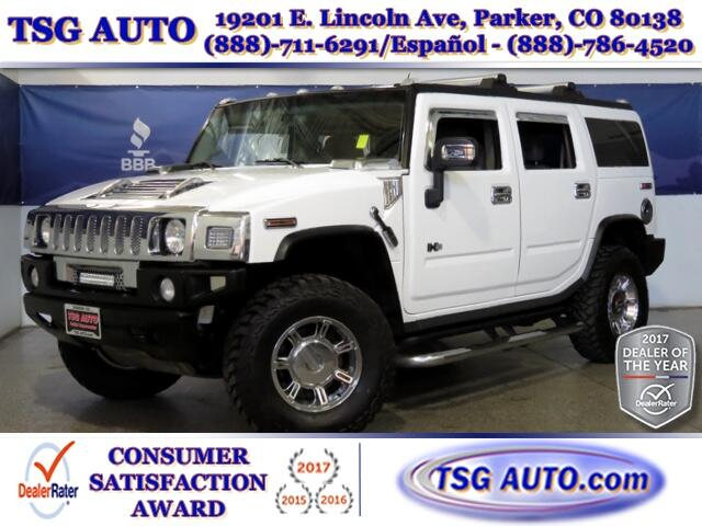 2004 HUMMER H2 6.0L V8 4WD W/Leather SunRoof