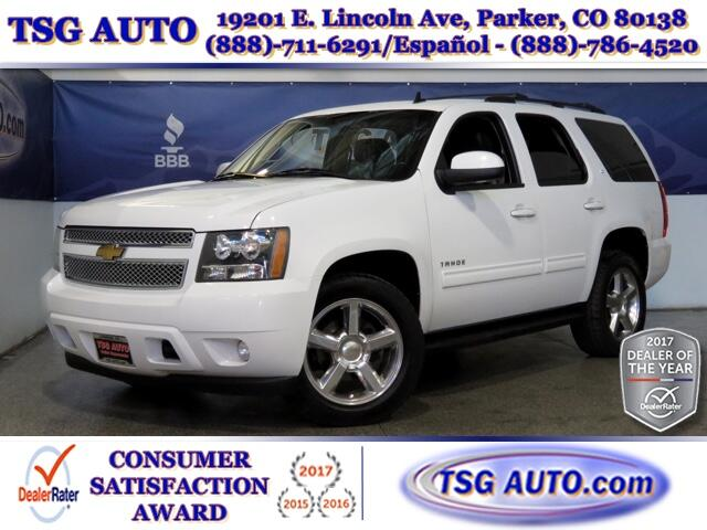 2013 Chevrolet Tahoe LT 5.3L V8 4WD W/Leather SunRoof