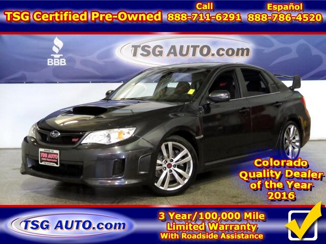 2014 Subaru Impreza WRX STI 2.5L H4 Turbo AWD W/Leather