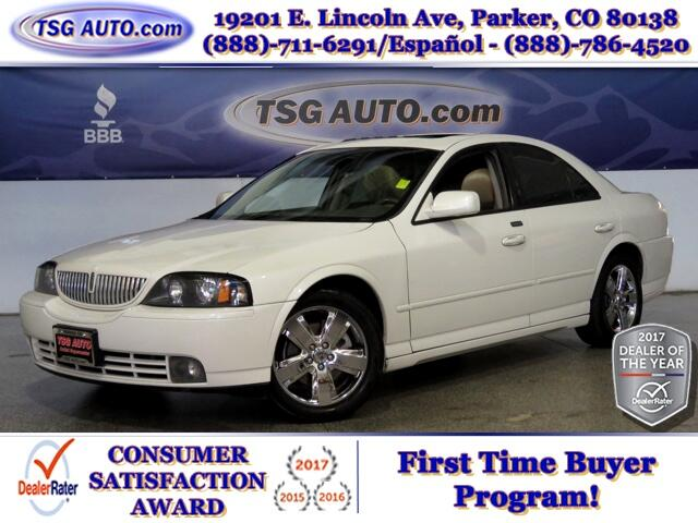 2006 Lincoln LS 3.9L V8 Sport W/SunRoof Leather