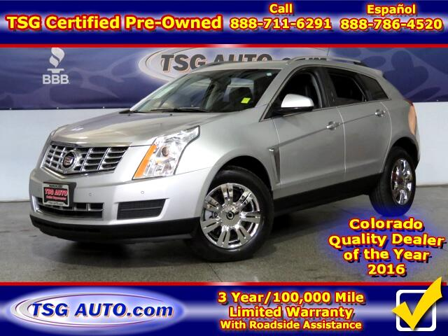 2015 Cadillac SRX Luxury Collection 3.6L V6 AWD W/Leather SunRoof