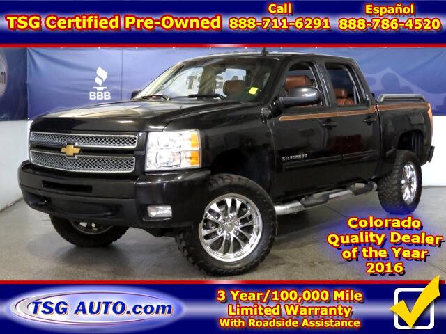 2012 Chevrolet Silverado 1500 Ultimate GFX Edition Crew Cab 5.3L V8 4WD W/Lift
