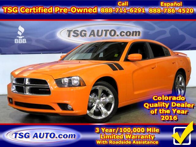 2014 Dodge Charger SXT Plus 3.6L V6 W/Leather