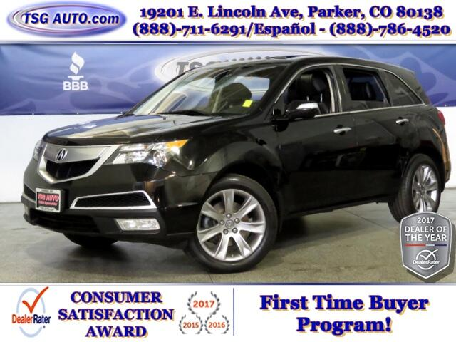 2013 Acura MDX Advance 3.5L V6 AWD W/NAV Leather SunRoof