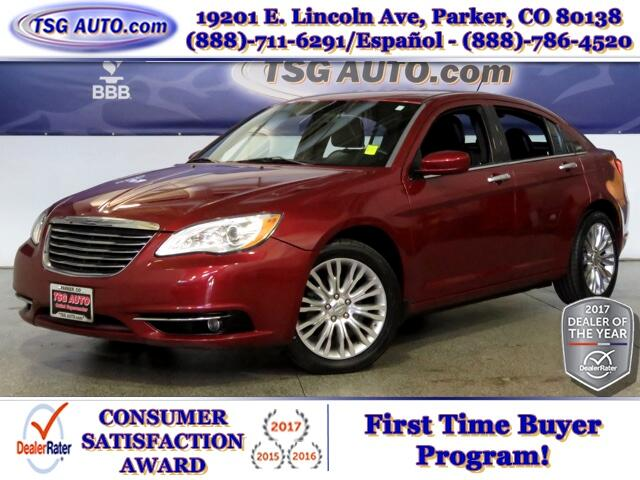 2011 Chrysler 200 Limited 3.6L V6 W/Leather