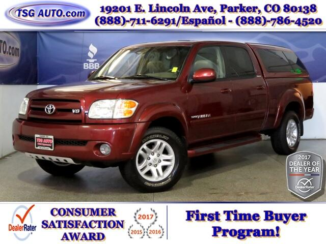 2004 Toyota Tundra Limited Double Cab 4.7L V8 4WD W/Leather Topper