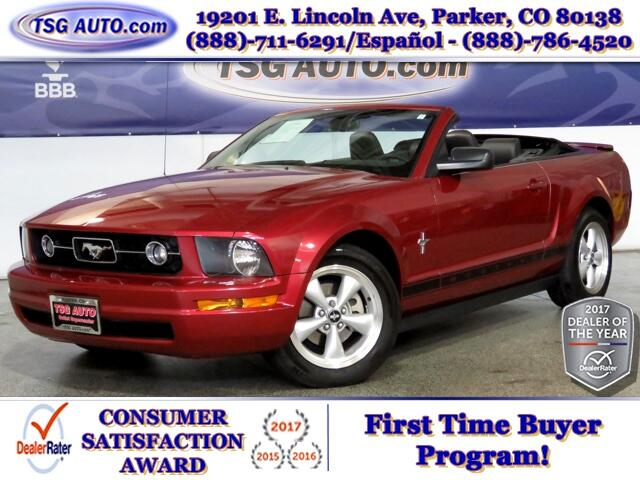 2007 Ford Mustang Premium 4.0L V6 W/Leather Convertible Top