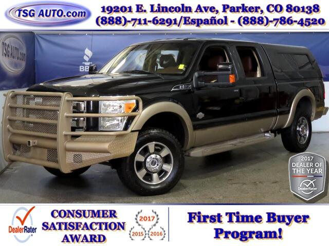 2011 Ford F-250 SD King Ranch Super Crew 6.7L V8 Turbo Diesel 4WD