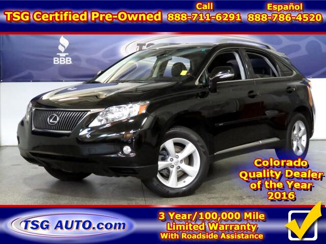 2010 Lexus RX 350 3.5L V6 AWD W/NAV Leather SunRoof