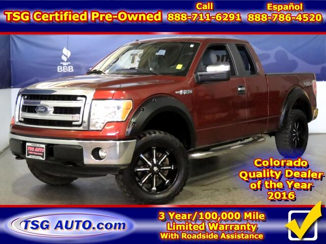 2014 Ford F-150 XLT Extended Cab 3.7L V6 4WD
