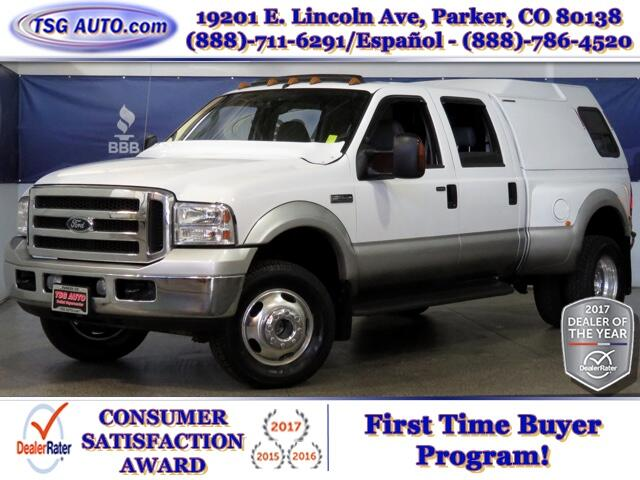 2005 Ford F-350 SD Lariat SuperCrew 6.8L V10 4WD DRW 4WD W/Leather
