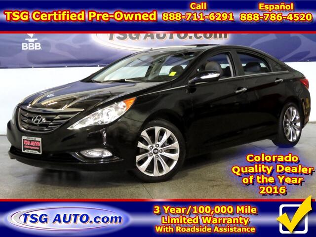 2011 Hyundai Sonata Limited 2.0L L4 Turbo W/Leather SunRoof