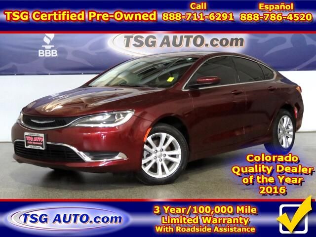 2015 Chrysler 200 Limited 2.4L L4