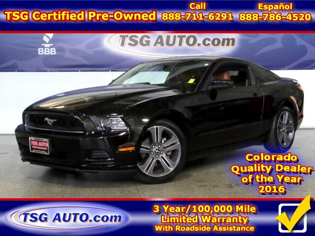 2014 Ford Mustang Premium 3.7L V6 W/Leather