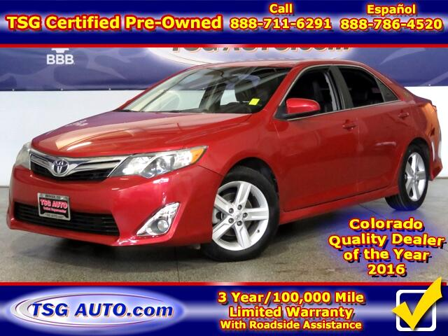 2013 Toyota Camry SE Sport 2.5L L4 W/Leather