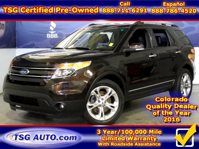 2014 Ford Explorer Limited 3.5L V6 4WD W/Leather ThirdRow