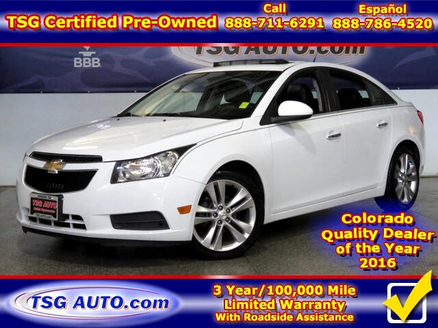 2011 Chevrolet Cruze LTZ 1.4L L4 Turbo W/Leather