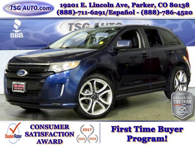 2011 Ford Edge Sport 3.7L V6 AWD W/NAV Leather SunRoof