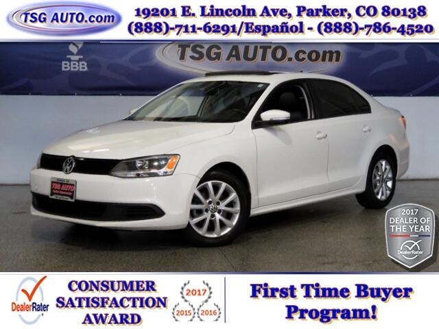 2011 Volkswagen Jetta SE 2.5L L5 W/Leather SunRoof