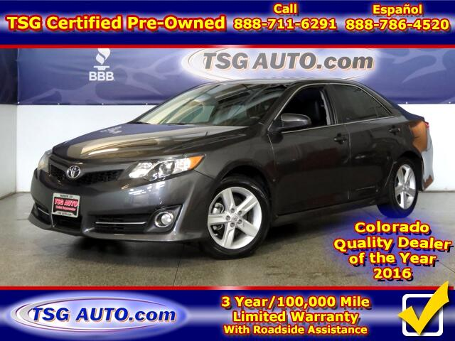 2014 Toyota Camry SE Sport 2.5L L4 W/Leather