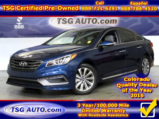 2015 Hyundai Sonata Sport 2.4L L4 W/Leather SunRoof