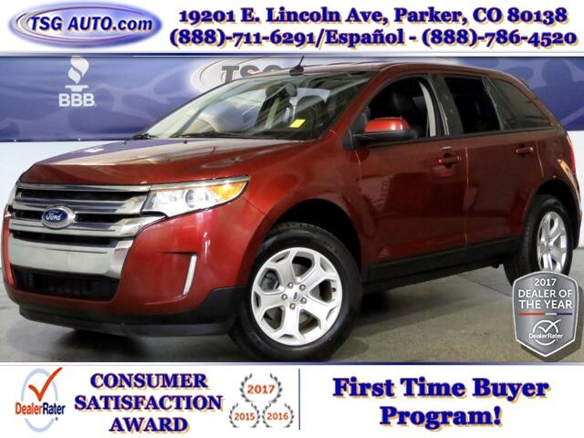 2014 Ford Edge SEL 3.5L V6 AWD W/Leather