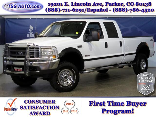 2004 Ford F-250 SD XLT Super Crew 6.0L V8 Turbo Diesel 4WD
