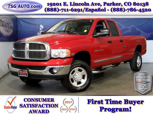 2004 Dodge Ram 2500 Laramie Quad Cab 5.7L V8 4WD W/NAV Leather