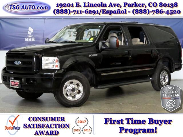 2005 Ford Excursion Limited 6.0L V8 4WD W/Leather ThirdRow