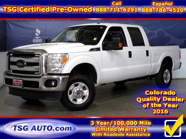 2012 Ford F-250 SD XLT Super Crew 6.2L V8 4WD