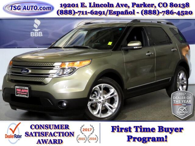 2013 Ford Explorer Limited 3.5L V6 AWD W/Leather