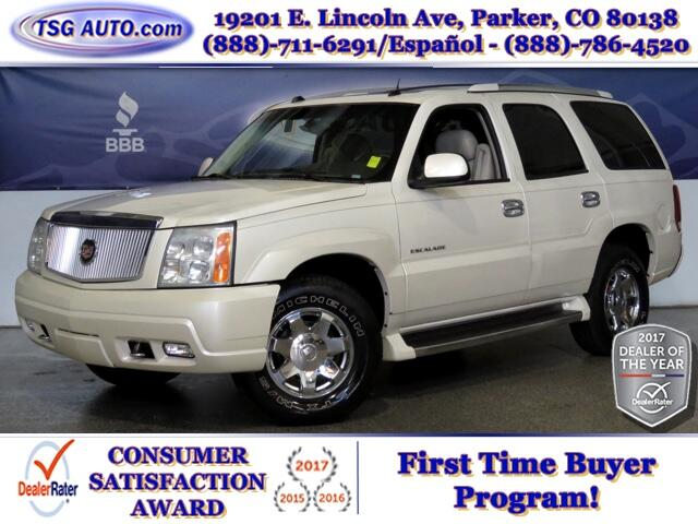 2004 Cadillac Escalade Luxury 6.0L V8 SuperCharged AWD W/Leather