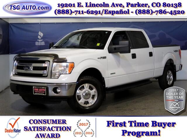 2014 Ford F-150 XLT Super Crew 3.5L V6 Turbo 4WD