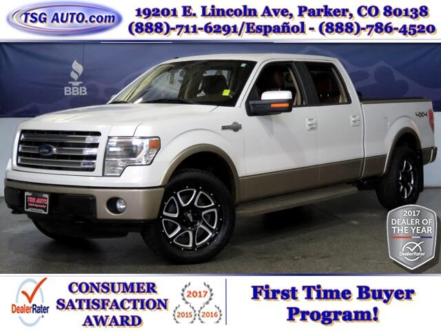 2013 Ford F-150 King Ranch SuperCrew 5.0L V8 4WD W/NAV Leather