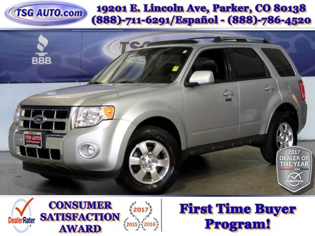 2012 Ford Escape Limited AWD W/Leather