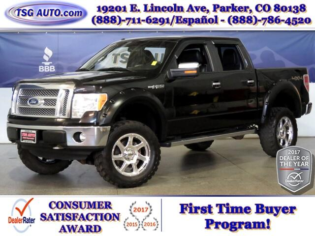 2011 Ford F-150 Lariat SuperCrew 6.2L V8 4WD W/Leather Lift